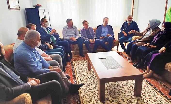 Başkanlardan Taziye Ziyareti